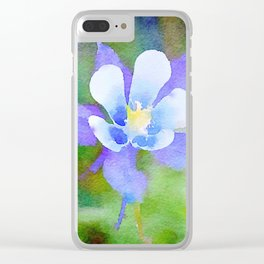 aprilshowers-222 Clear iPhone Case