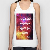 inspiration Tank Tops featuring Rumi by 2sweet4words Designs