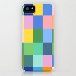 Shades of Spring Green iPhone Case