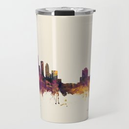 Tampa Florida Skyline Travel Mug