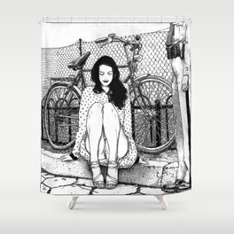 asc 592 - L'amende honorable (A satisfactory apology) Shower Curtain