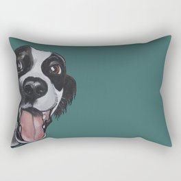 Maeby the border collie mix Rectangular Pillow