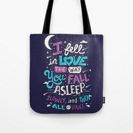 Fell in love Tote Bag