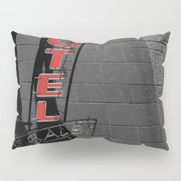 Hotel in Genova Black and White Photography Italy Pillow Sham