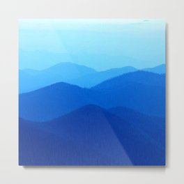 Hunter Mountain Spring Metal Print