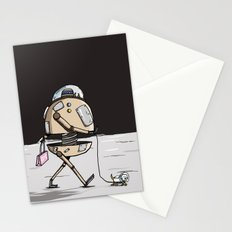 On the moon 1 Stationery Cards