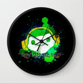Let's drop the beat! Wall Clock