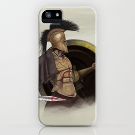 Dust & Bronze iPhone Case