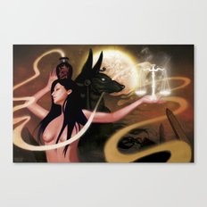 Spirit of Anubis Canvas Print