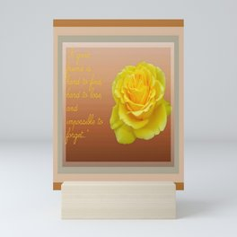 A Good Friend Is Hard To Find and Hard To Lose Greeting  Mini Art Print