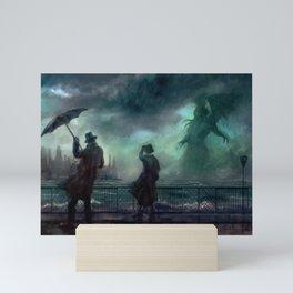 Cthulhu Rises Mini Art Print