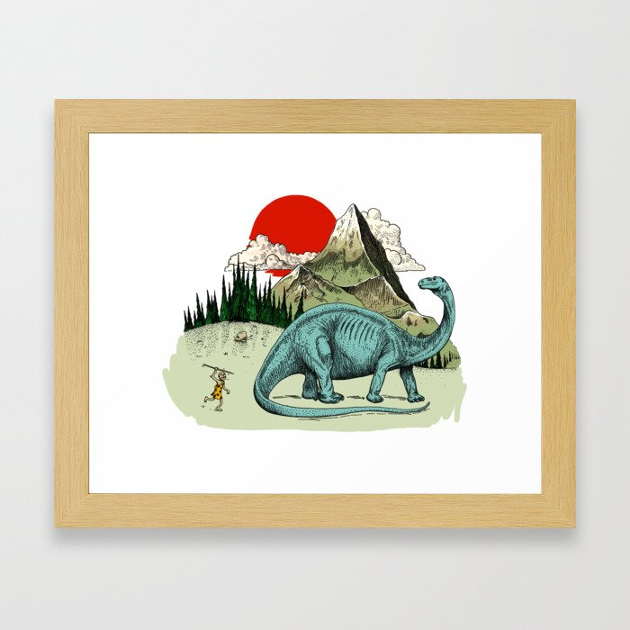 If you don't try, you'd never know how to Framed Art Print