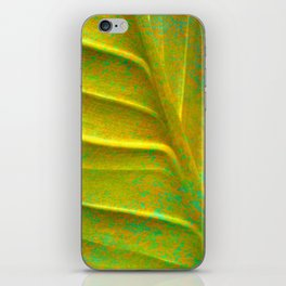 Abstract Leaf iPhone Skin