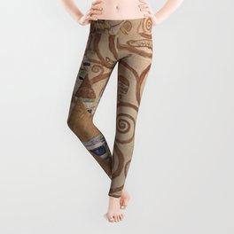 Gustav Klimt - The Expectation Leggings