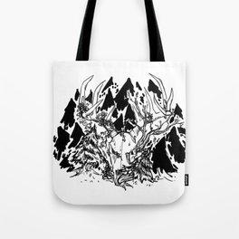 old gods forest Tote Bag