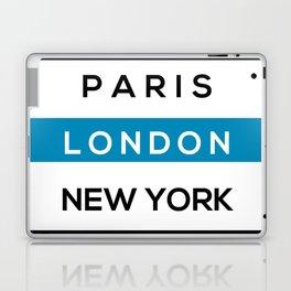 London Blue Laptop & iPad Skin