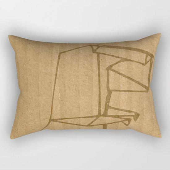 Origami - Dino Rectangular Pillow