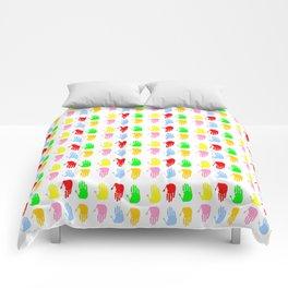Hand 10 Comforters