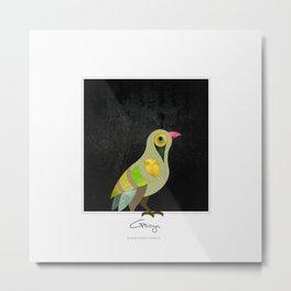 Singing Armenian Bird Metal Print