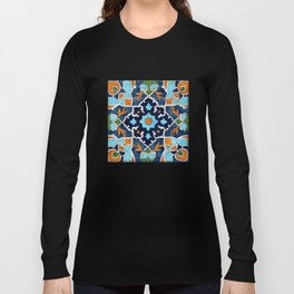 Mediterranean tile Long Sleeve T-shirt