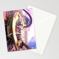Ocean of Color in Space Stationery Cards
