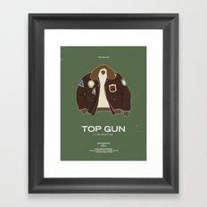 Dress The Part - Top Gun Framed Art Print