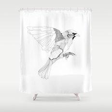 Birdie Shower Curtain