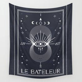 The Magician or Le Bateleur Tarot Wall Tapestry