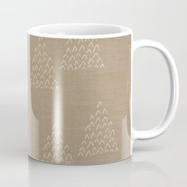 DESERT MUDCLOTH . ABSTRACT MOUNTAIN TRIANGLES Coffee Mug