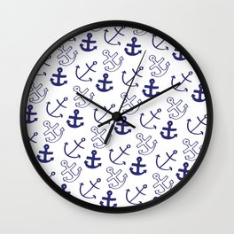 Anchors Wall Clock