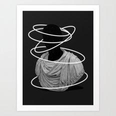 Halos Art Print