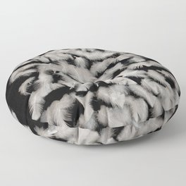 Quivering feathers Floor Pillow
