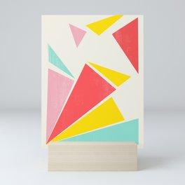Shattered Rays Mini Art Print