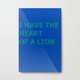 Jay Lionheart Metal Print
