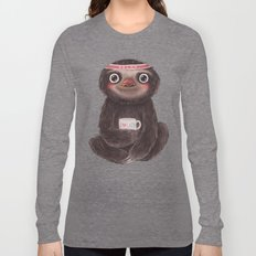 Sloth I♥lazy Long Sleeve T-shirt