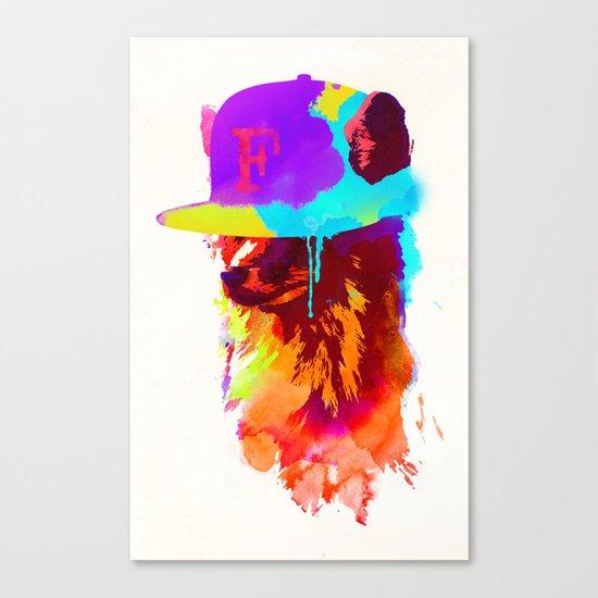Foxey's Favorite Cap Canvas Print