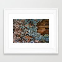 tapestry Framed Art Prints featuring Tapestry by Kent Moody