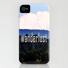 Wanderlust iPhone (4, 4s) Slim Case
