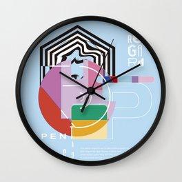 Un autre Regard Wall Clock