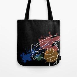 Black Dragon Art Tote Bag