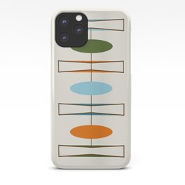 Mid-Century Modern Art 1.2 iPhone Case