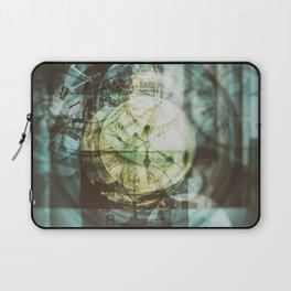 multi exposure clock Laptop Sleeve