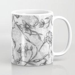 Flower Pattern Coffee Mug
