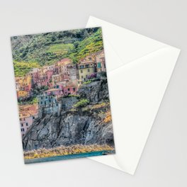 Italy Seaside Architecture Stationery Cards