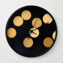 Defocus Wall Clock