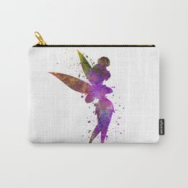 Tinker bell in watercolor Carry-All Pouch