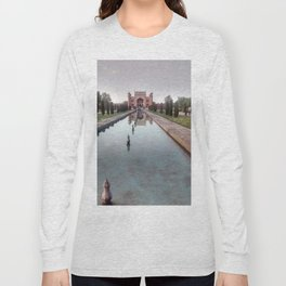 Taj Mahal Pond Long Sleeve T-shirt