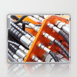 Hoses of hydraulic machine Laptop & iPad Skin