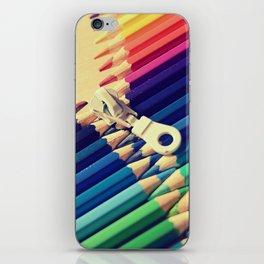 Crayon Zip iPhone Skin