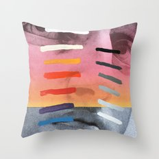Composition on Panel 4 Throw Pillow